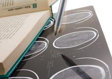 луч ручки книги x Стоковое фото RF