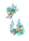 луч цветка x Стоковое Изображение