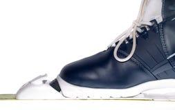 лыжа ботинка Стоковое Изображение