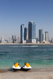 Лыжа двигателя Дубай Стоковые Фото