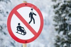 лыжа всадников Стоковые Фото