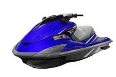 лыжа голубого двигателя Стоковое Изображение