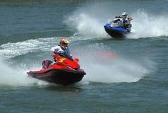 лыжа гонки 5 двигателей Стоковая Фотография RF