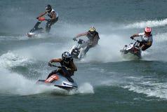 лыжа гонки 6 двигателей Стоковое Фото