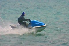 лыжа двигателя действия Стоковые Фотографии RF