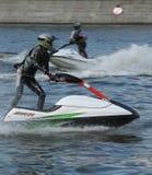 лыжа двигателя конкуренции Стоковая Фотография
