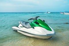 лыжа двигателя пляжа Стоковые Изображения RF