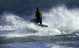 лыжа двигателя Стоковое Фото