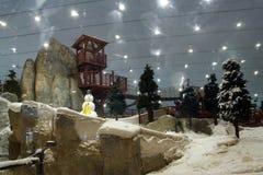 Лыжа Дубай, Объединенные эмираты стоковые фотографии rf