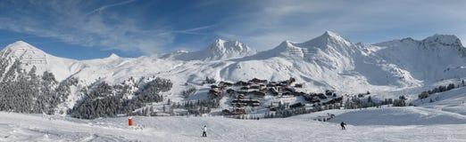 лыжа зоны Стоковое фото RF