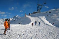 лыжа зоны Стоковая Фотография