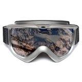 лыжа изумлённых взглядов стоковое изображение