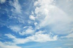 Лыжа и облако Стоковые Изображения RF