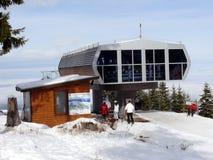 лыжа курорта Болгарии borovets Стоковое фото RF