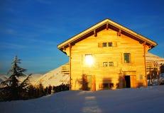 лыжа курорта Стоковое Фото