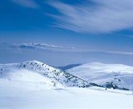 лыжа курорта Стоковое Изображение