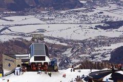 лыжа курорта Стоковые Фото