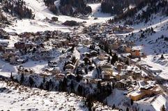 лыжа курорта alps австрийская obertauern Стоковое Фото