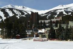 лыжа курорта breckenridge Стоковые Изображения RF
