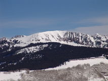 лыжа курорта colorado Стоковые Фотографии RF