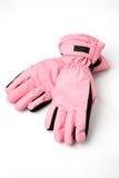 лыжа перчаток стоковое изображение rf