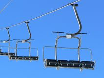 лыжа подъемов Стоковая Фотография