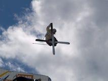 лыжа фристайла Стоковая Фотография RF