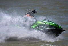Лыжа driver-1 двигателя Стоковая Фотография