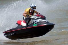 Лыжа driver-6 двигателя Стоковое фото RF