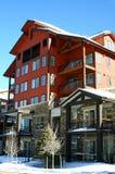 лыжа lodge Стоковые Фотографии RF