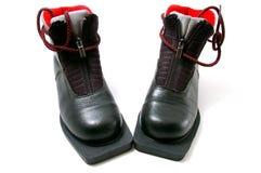 лыжи ботинка идущие стоковые изображения