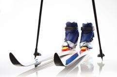 лыжи страны перекрестные стоковое фото