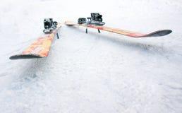 лыжи фристайла стоковое изображение rf
