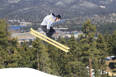 лыжник гор Стоковое Фото