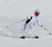 Лыжник Стоковые Изображения RF