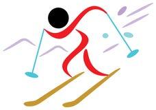 лыжник бесплатная иллюстрация