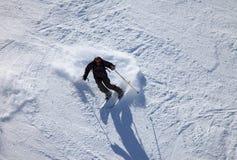 лыжник Стоковое Изображение