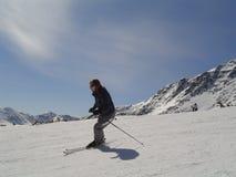 лыжник Стоковая Фотография