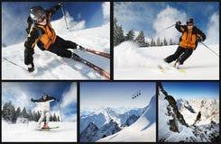 лыжник Стоковое Фото