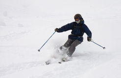 Лыжник Freeride Стоковое Изображение RF