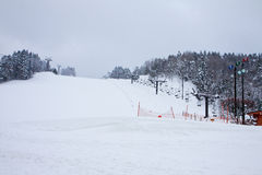 Лыжный курорт зимы Стоковые Фотографии RF