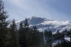 Лыжный курорт Стоковые Изображения