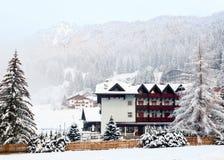 Лыжный курорт Стоковое фото RF