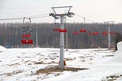 Лыжный курорт Стоковое Фото