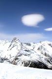 Лыжный курорт стоковое изображение