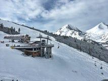 Лыжный курорт Bansko Стоковые Фотографии RF