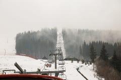 Лыжный курорт Bukovel, Украина Стоковое Изображение