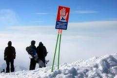 Лыжный курорт Gudauri стоковая фотография rf