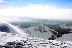 Лыжный курорт Gudauri Стоковое Изображение RF