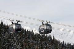 Лыжный курорт Jasna, Словакия Стоковое Изображение RF